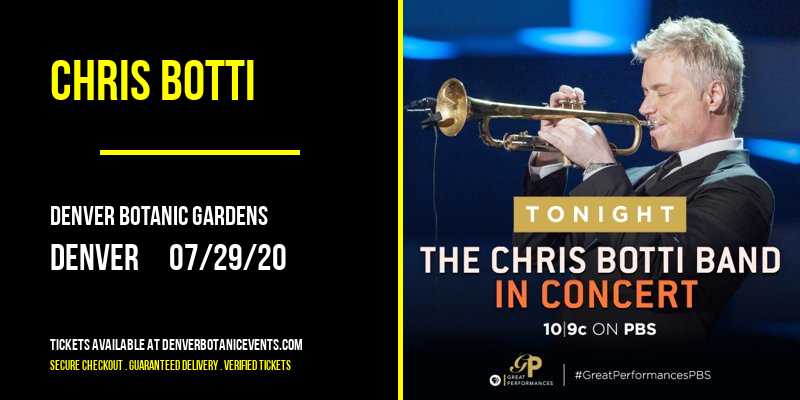 Chris Botti at Denver Botanic Gardens